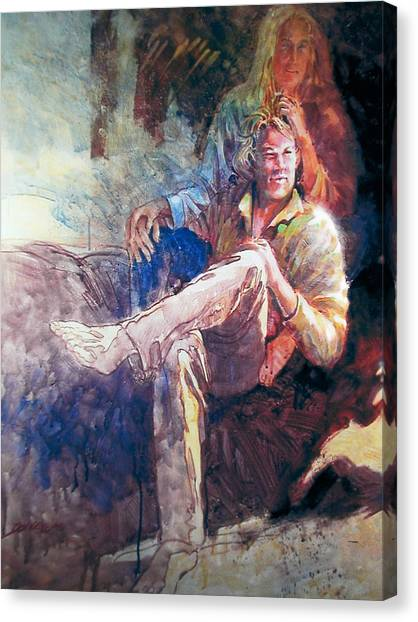 Young Americans Canvas Print by Don Getz