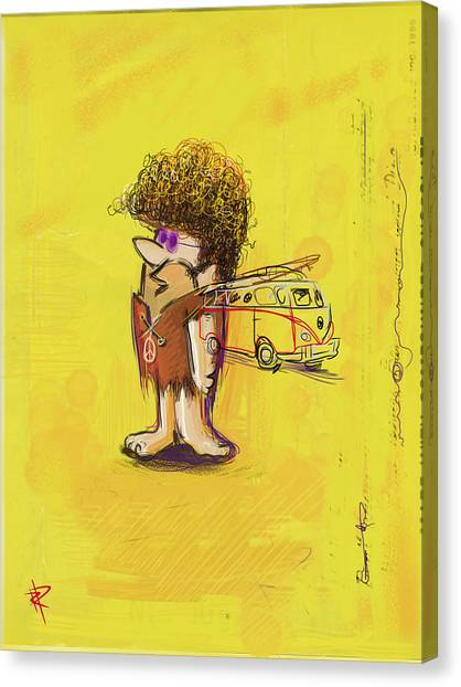 Young Barney Canvas Print