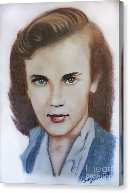 Young Elizabeth  Canvas Print