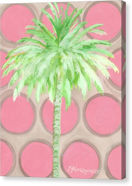 Your Highness Palm Tree Canvas Print