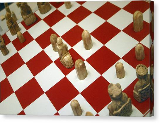 Your Move Canvas Print by Jez C Self