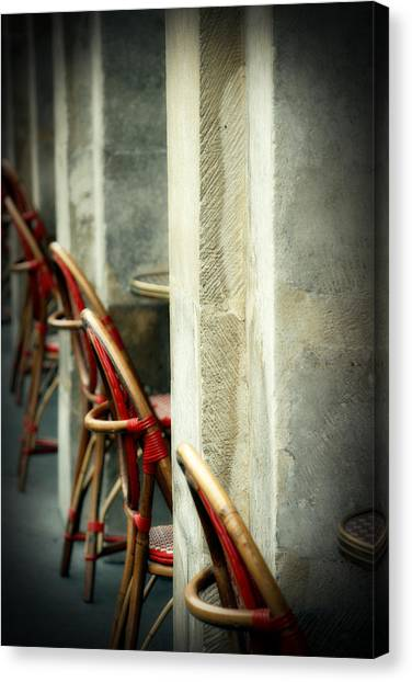 Your Tables Ready Canvas Print by Cabral Stock