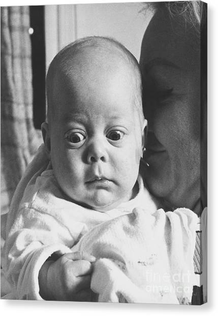 Preemie Canvas Print - Youve Got To Be Kidding by Margaret Durrance