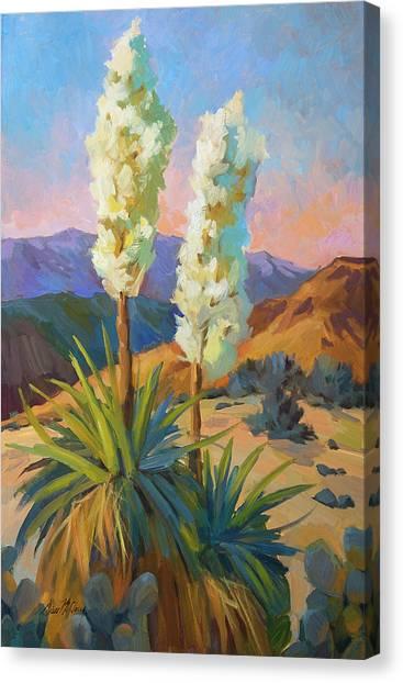 Yuccas Canvas Print