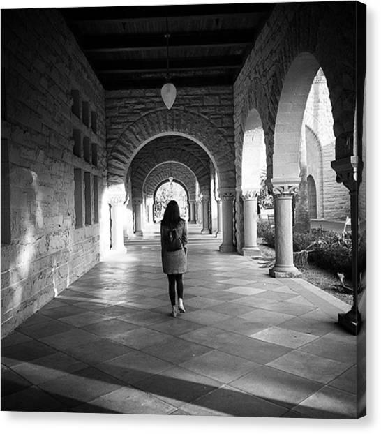 Stanford University Canvas Print - @yukiyukulele Exploring #stanford by Keenan Ngo