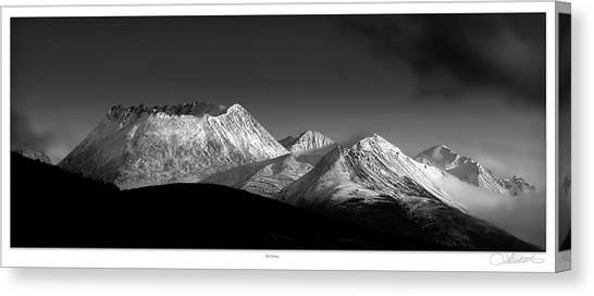 Yukon Volcano Canvas Print by Lar Matre