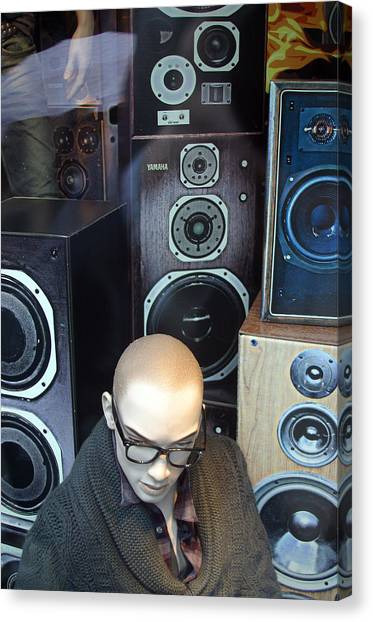 Yul Love The Sound Of These Canvas Print by Jez C Self