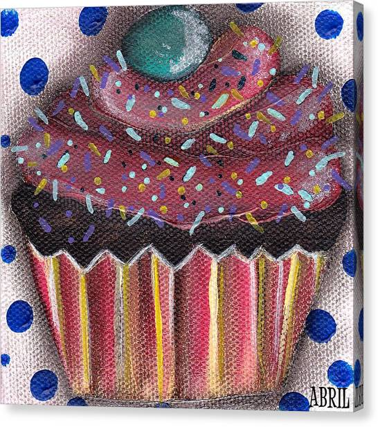 Yummy 5 Canvas Print by  Abril Andrade Griffith