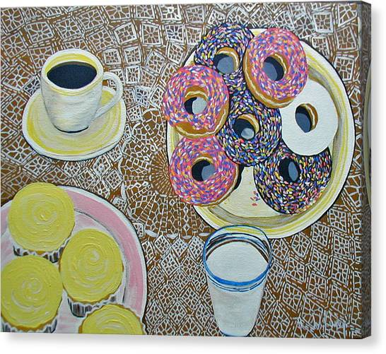 Yummy Canvas Print by Norma Tolliver