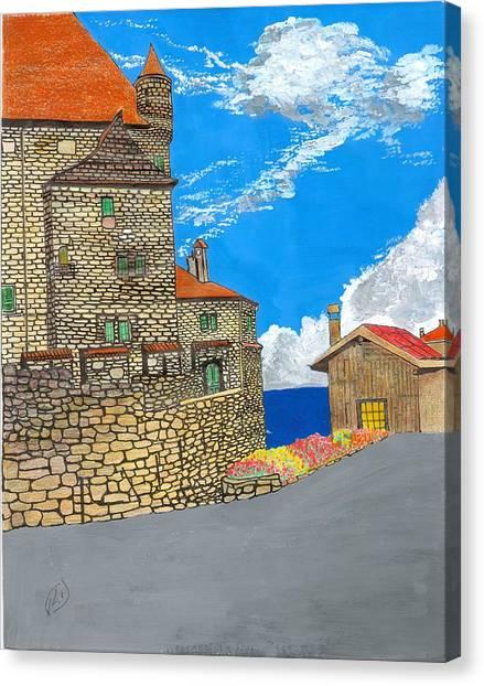 Yvoir Canvas Print