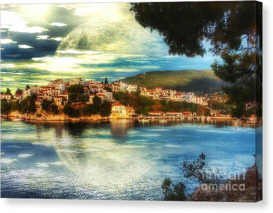 Yvonnes World Canvas Print