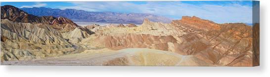 Zabriski Point Panoramic Canvas Print