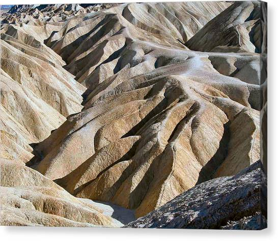 Zabriskie Point Canvas Print by William Thomas
