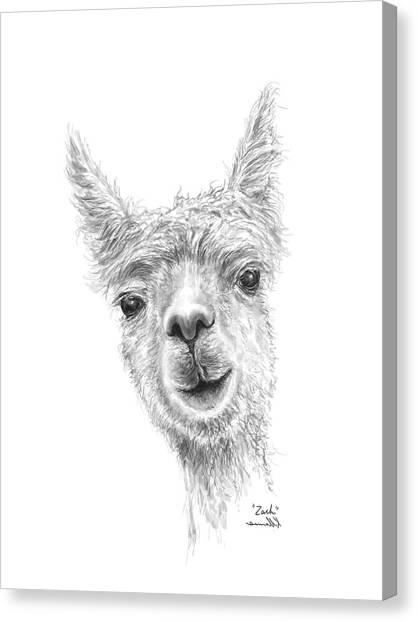 Canvas Print - Zach by K Llamas