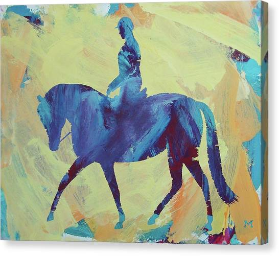 Canvas Print featuring the painting Zahrah by Candace Shrope