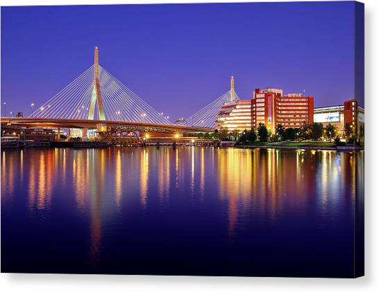 Zakim Twilight Canvas Print