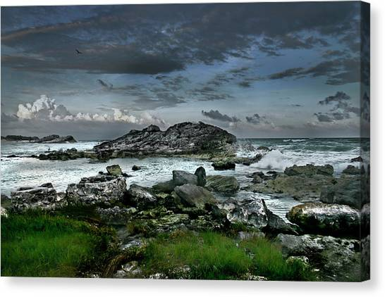 Zamas Beach #14 Canvas Print