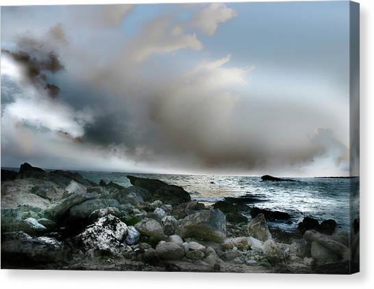 Zamas Beach #2 Canvas Print