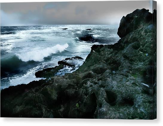 Zamas Beach #5 Canvas Print