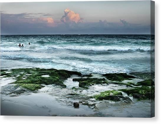 Zamas Beach #7 Canvas Print