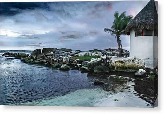 Zamas Beach #8 Canvas Print