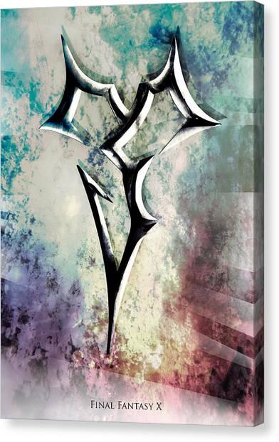 Final Fantasy Canvas Print - Zanarkand Abes by MCAshe