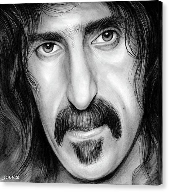 Frank Zappa Canvas Print - Zappa by Greg Joens