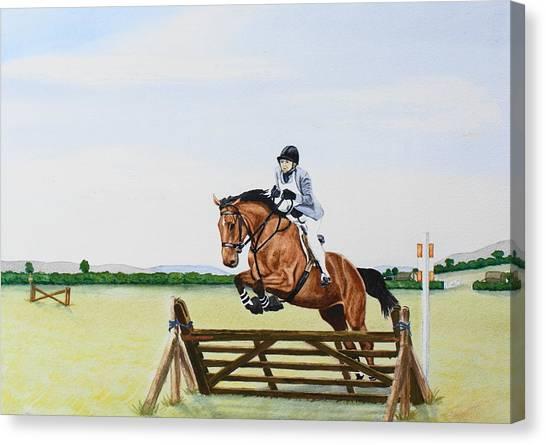 Zara Ix Canvas Print by Frank Hamilton