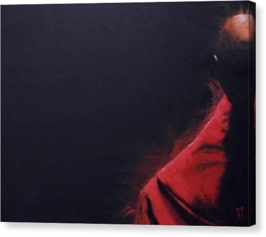 Buddhism Canvas Print - Zazen - Beyond The Snowflake's Echo by Nick Young