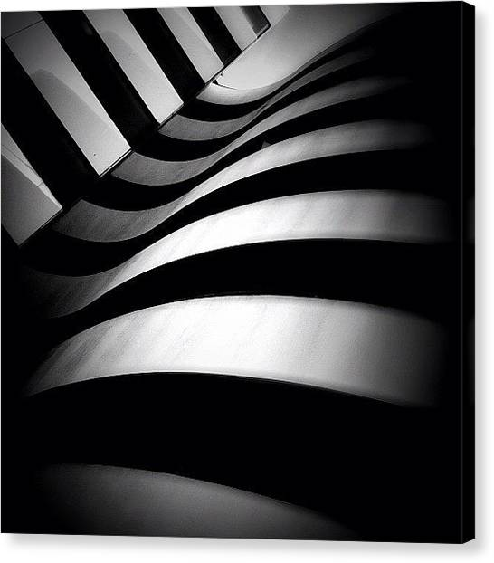 Rptw4ofblack Canvas Print - Zebra City - Concrete Jungle by Robbert Ter Weijden