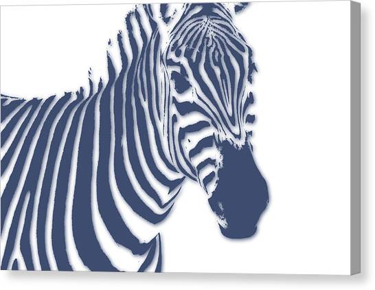 Mount Kilimanjaro Canvas Print - Zebra by Joe Hamilton