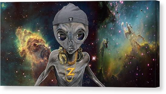 Synthesizers Canvas Print - Zedd by Doug LaRue