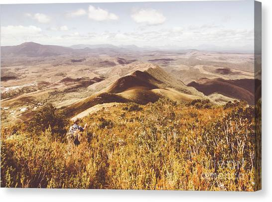 Backpacks Canvas Print - Zeehan Tasmania by Jorgo Photography - Wall Art Gallery