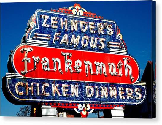 Zehnder's Frankenmuth Michigan Canvas Print