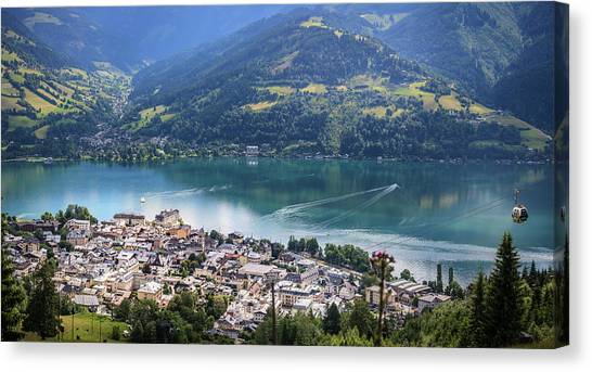 Zell Am See Austria Canvas Print