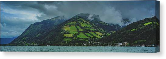 Zell Am See Panorama Canvas Print