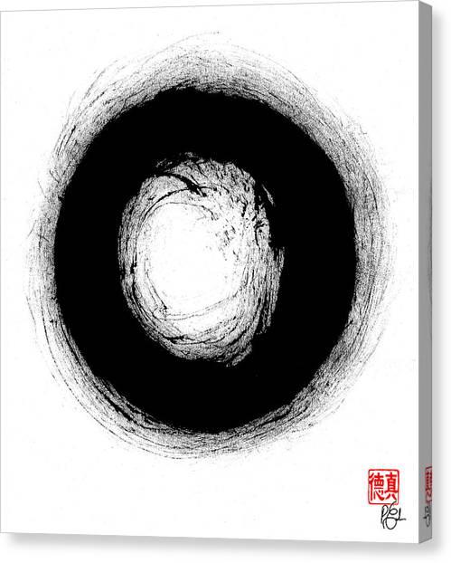 Zen Circle Three Canvas Print