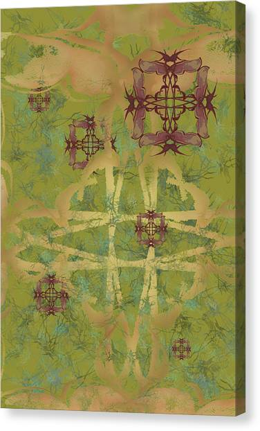 Zen Fly Colony Canvas Print