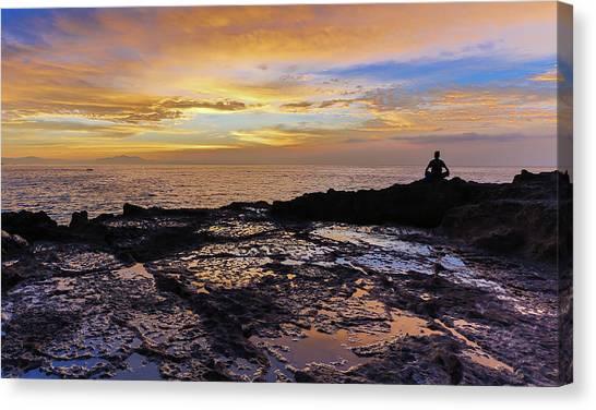 Zen Morning Canvas Print