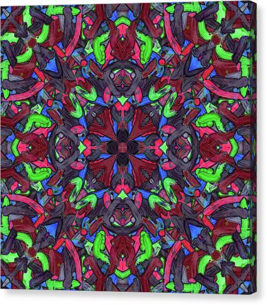 Zentao - Pattern Canvas Print