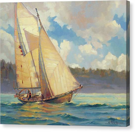 Vacation Canvas Print - Zephyr by Steve Henderson