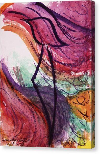 Zephyr Zayin Canvas Print