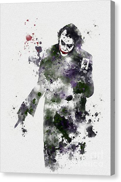 Bat Canvas Print - Zero Empathy by Rebecca Jenkins