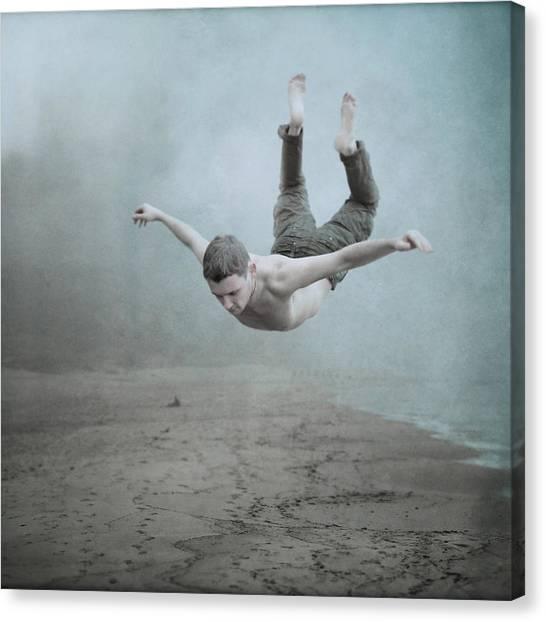 Surreal Canvas Print - Zero Graviry  by Anka Zhuravleva