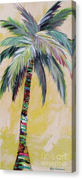 Zest Palm I Canvas Print