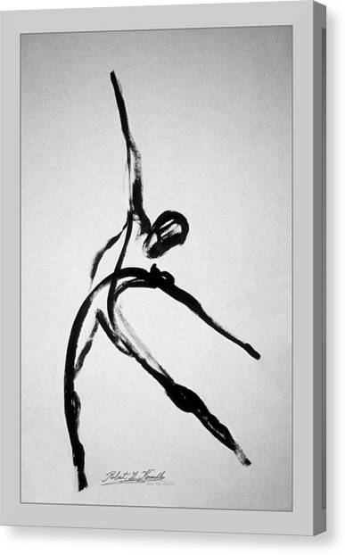 Zeta X6 Dancer Canvas Print