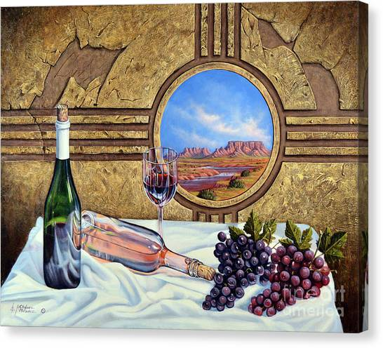 Zia Wine Canvas Print