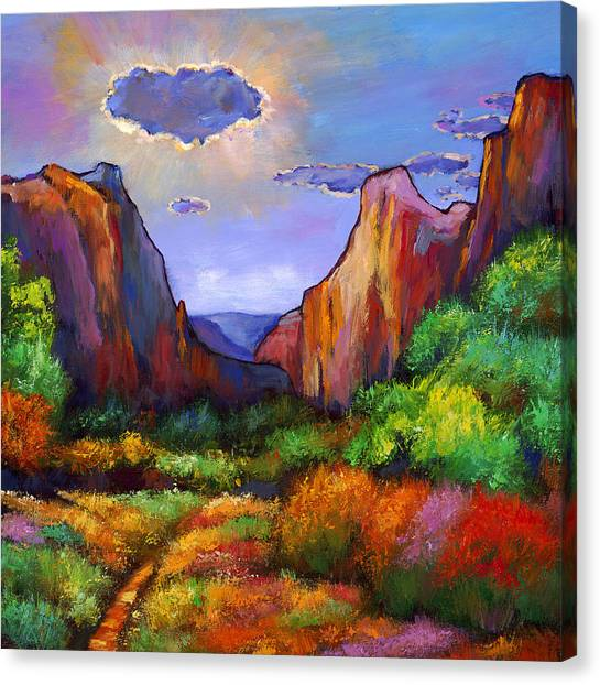 New Mexico Canvas Print - Zion Dreams by Johnathan Harris