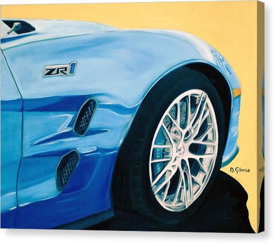 Zr1 Go Faster Canvas Print