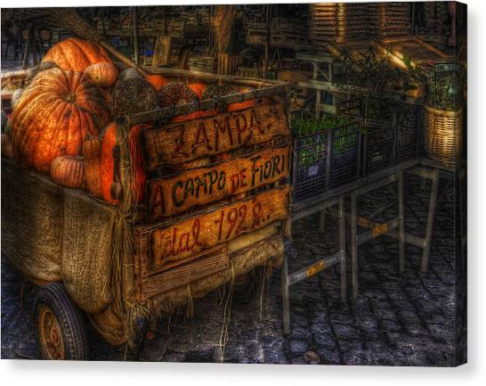 Zucca Canvas Print by Brian Thomson